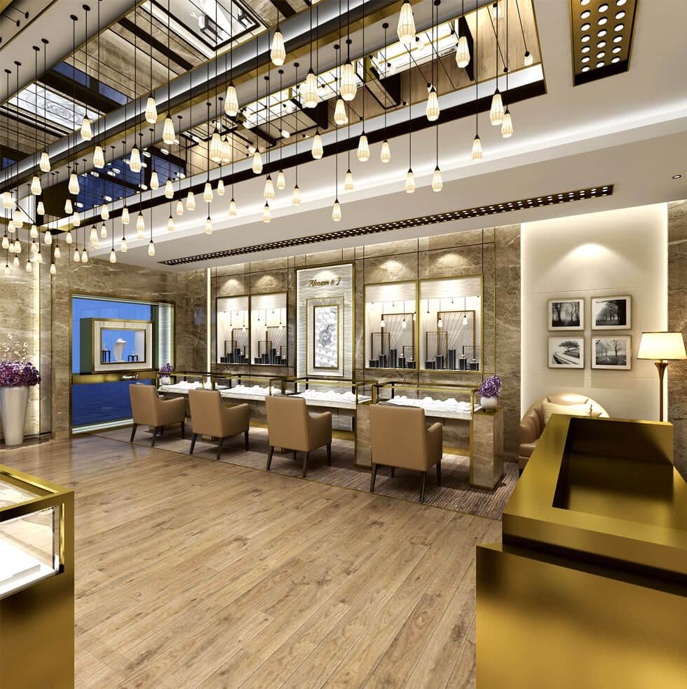 Diamond store design