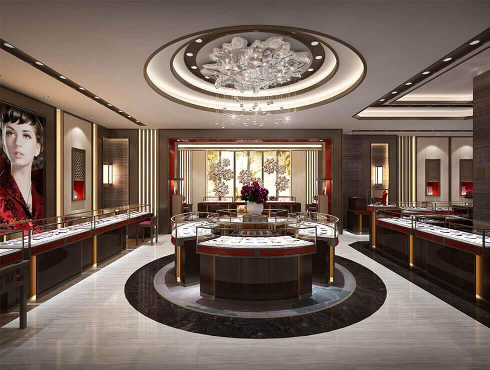 modern jewelry store design