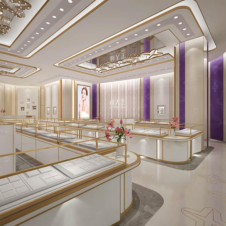 Lindasheng jewelry shop design