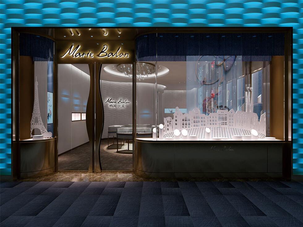 jewelry store fixture design