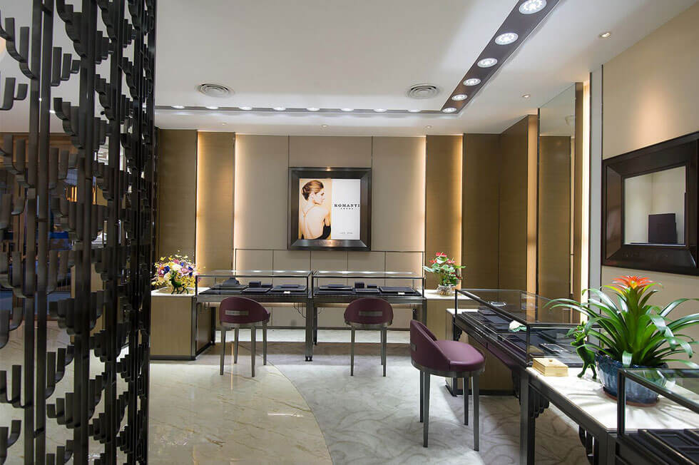 Jewelry Showroom Furniture Image