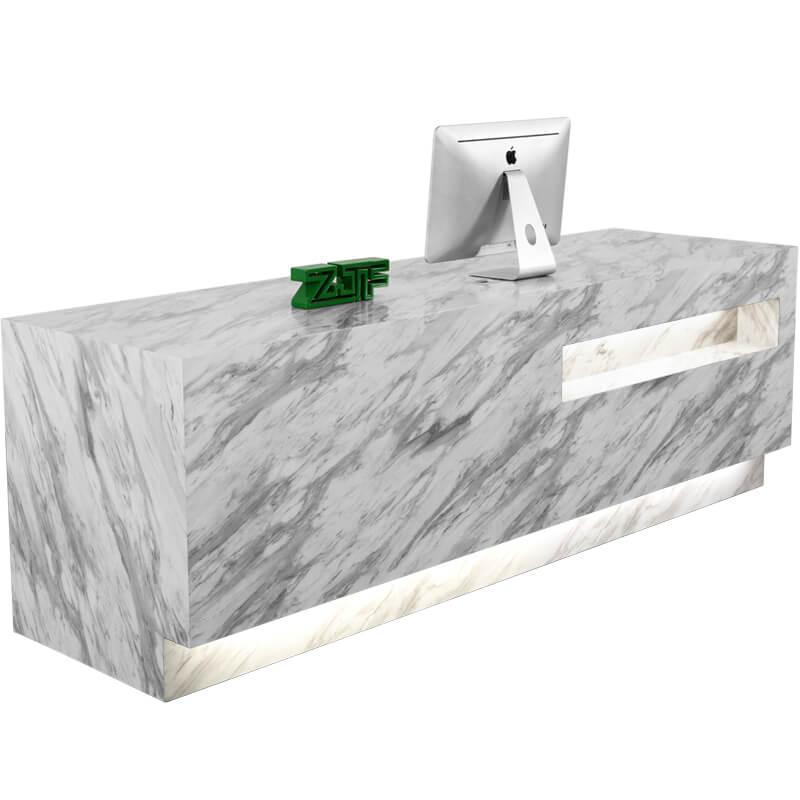 marble front desk