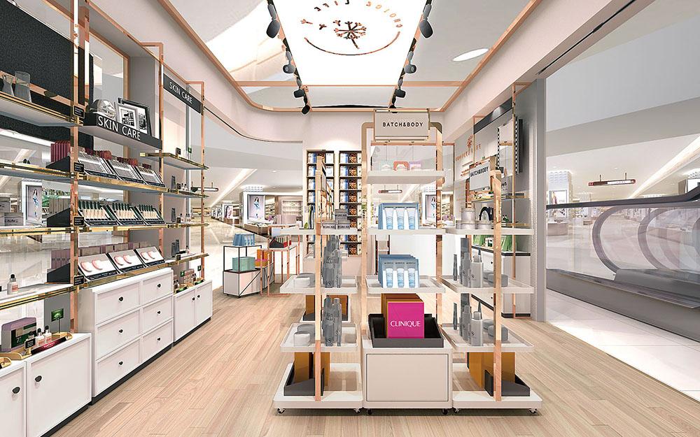 cosmetic store design