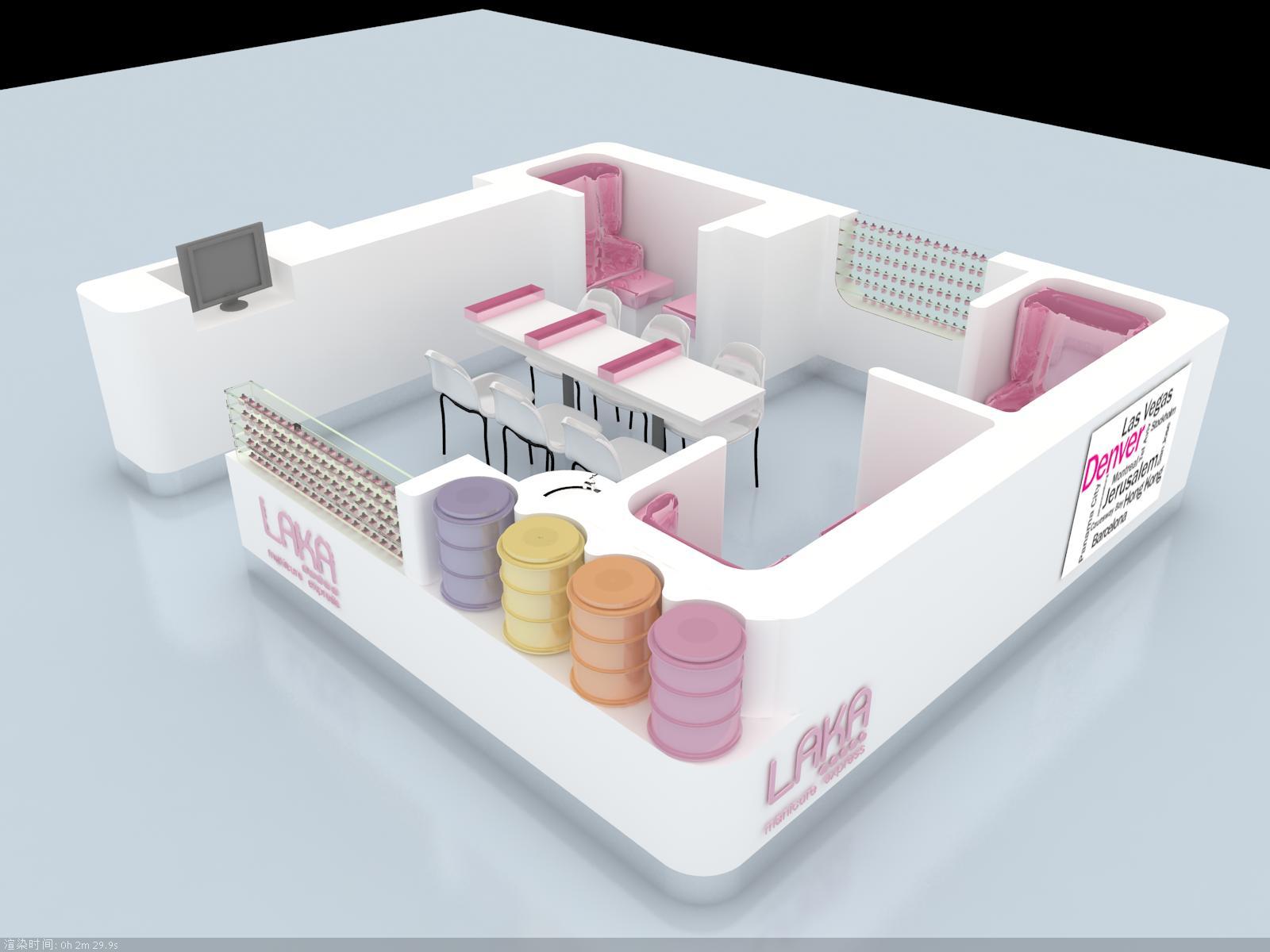 laka kiosk design