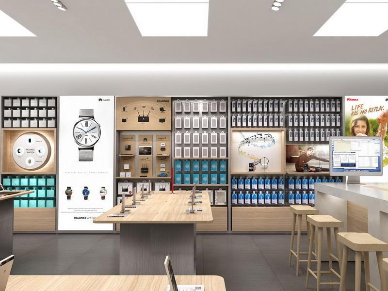 phone accessories store  design