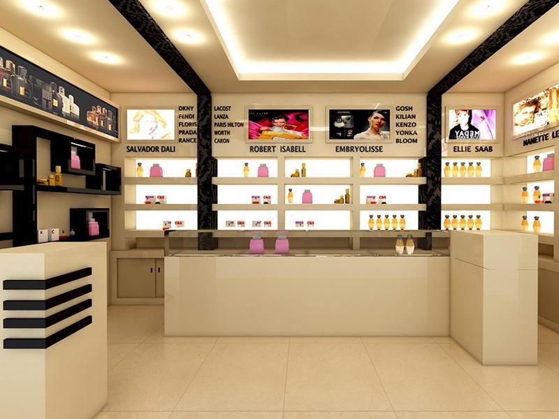 perfume store fixtures