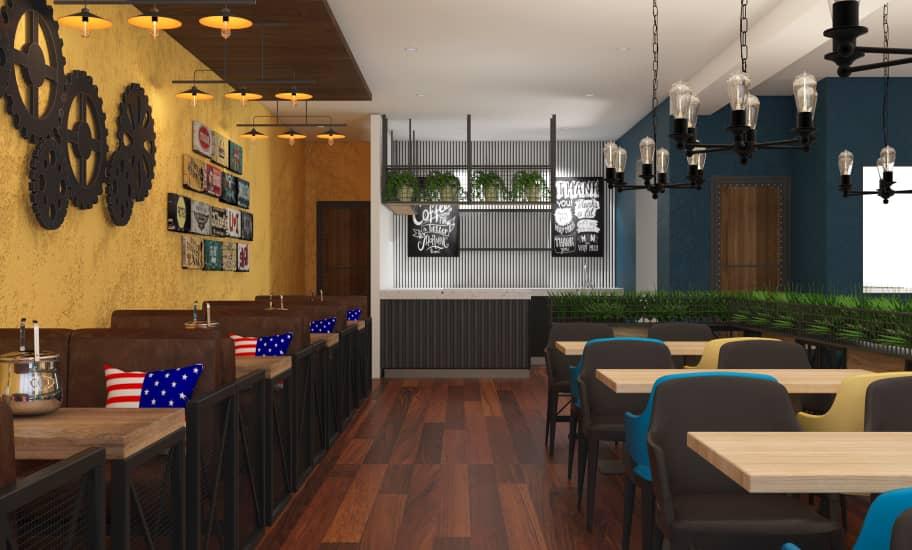 restaurant shop design