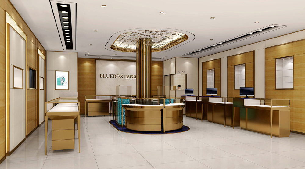 jewelry shop furniture