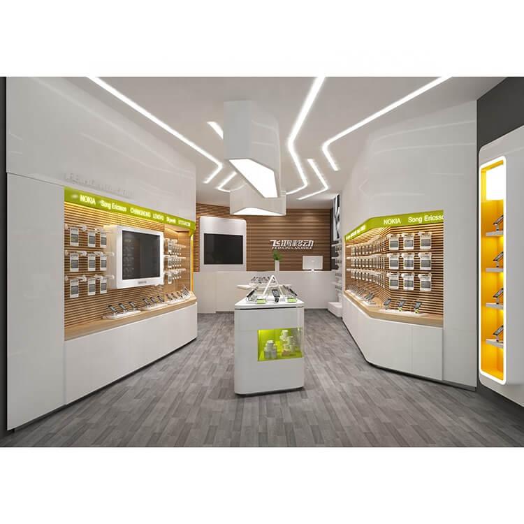 modern cell phone shop design ideas