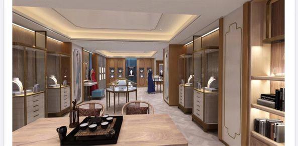 Jewellery Showroom Designs