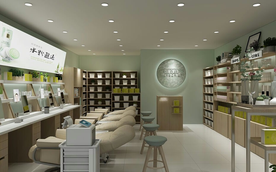 Cosmetic Store 3d Design & Cosmetic Shop Fixture Some Tips to Open Store