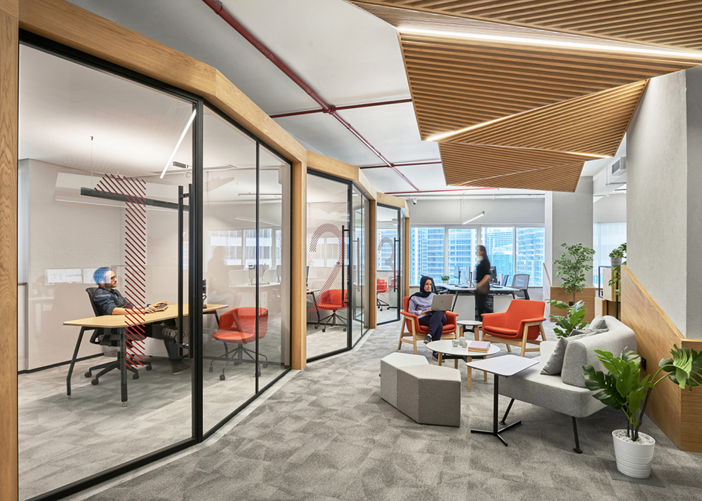 office resting area design