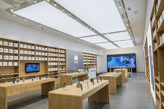 huawei cell phone store fixtures