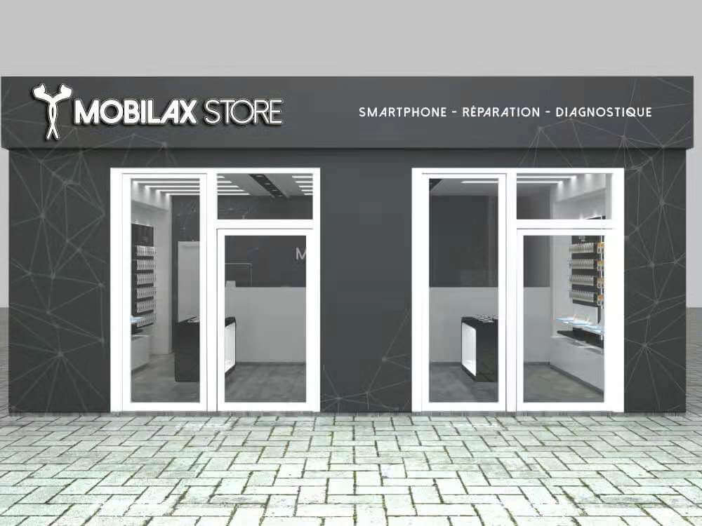 Cheap Mobile Phone Shop Design W/ Retail Display Fixtures & Phone Accessories ShowcaseS
