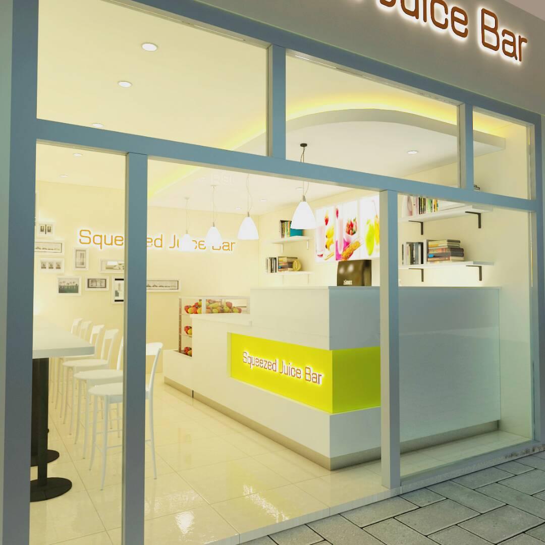 bubble tea shop front