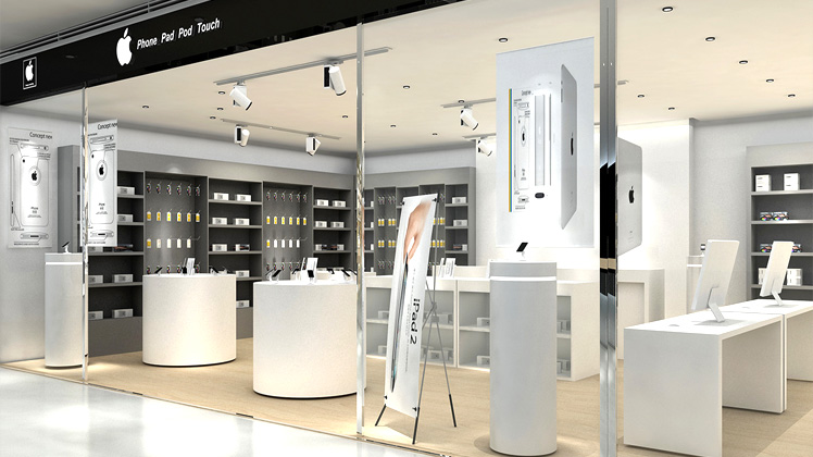 apple store interior design