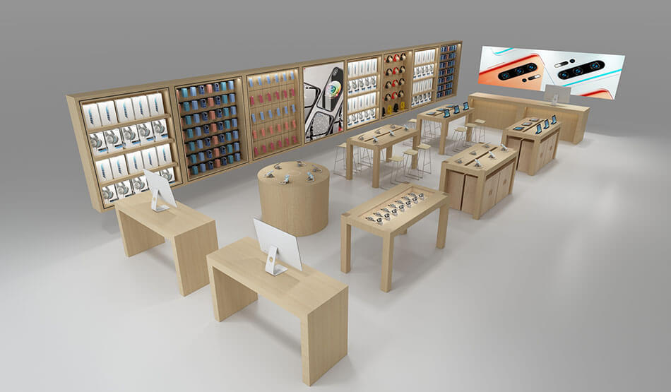 iPhone Shop design