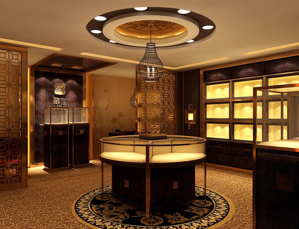 classic jewelry shop design