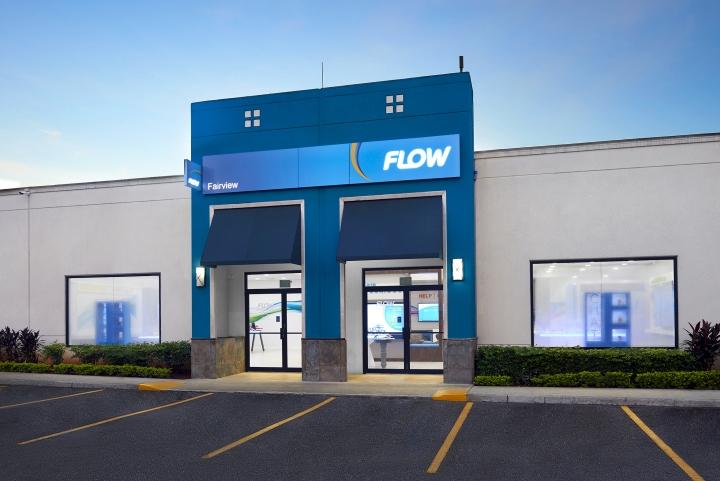 Telecom Store Shop Front Design