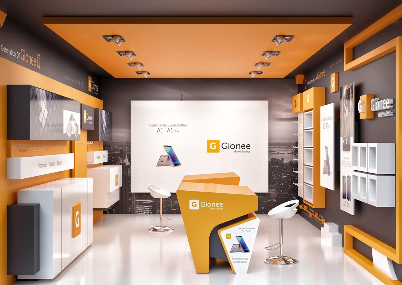 mobile phone store design