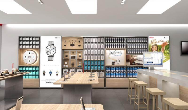 HUAWEI Exprience Store Design