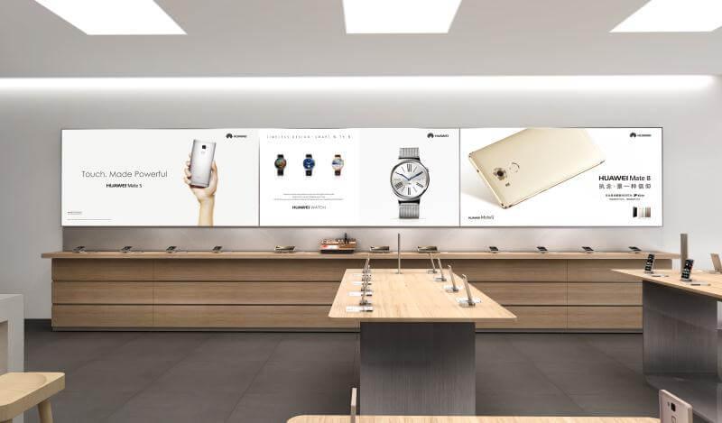 HUAWEI Retail Dispaly Design
