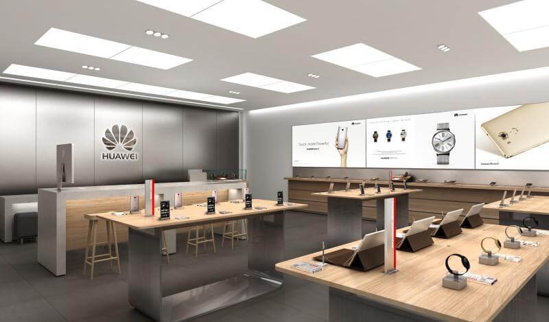 HUAWEI Mobile Shop Design
