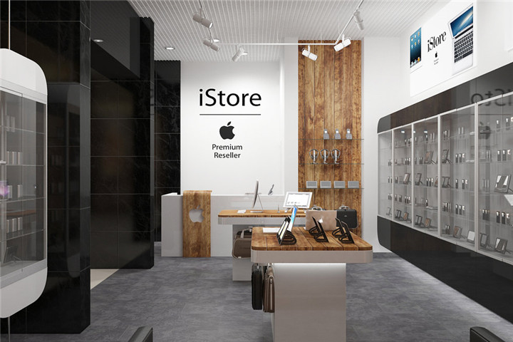 cell phone store interior design