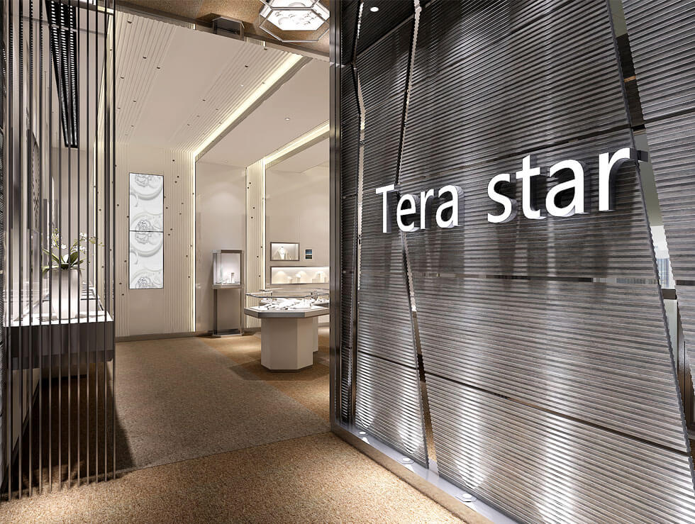 jewelry showroom design ideas