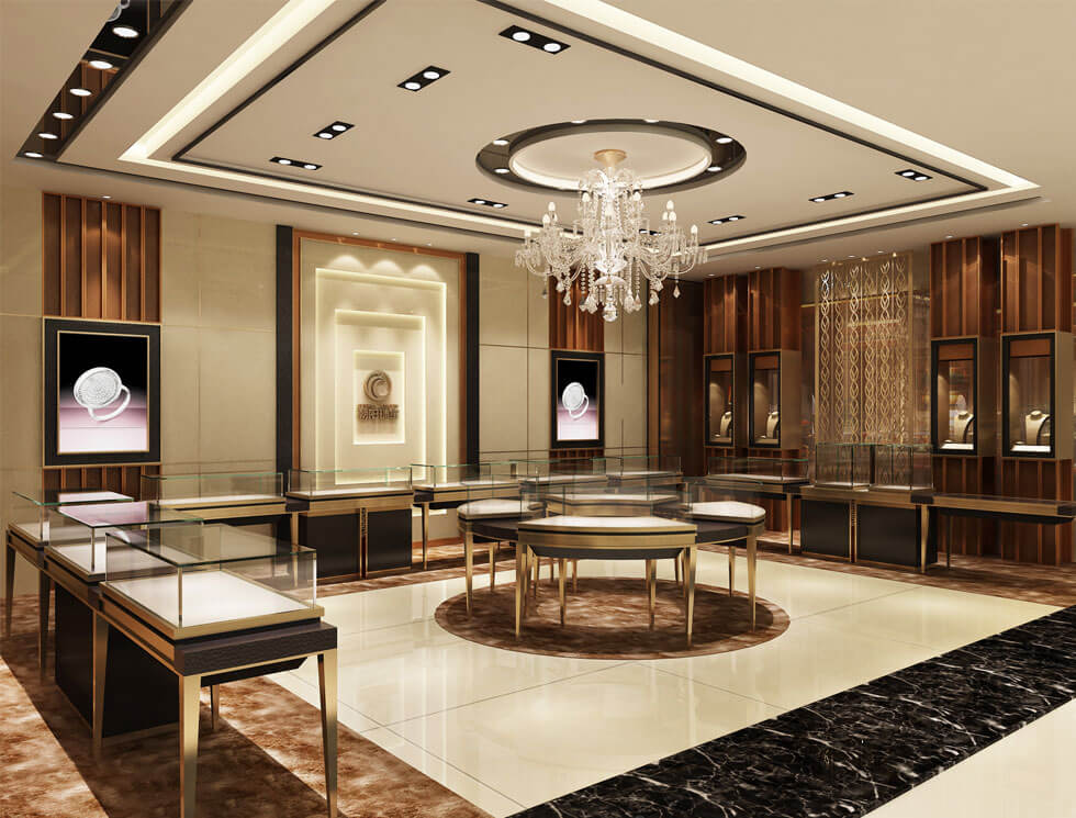 jewelry shop design for mall