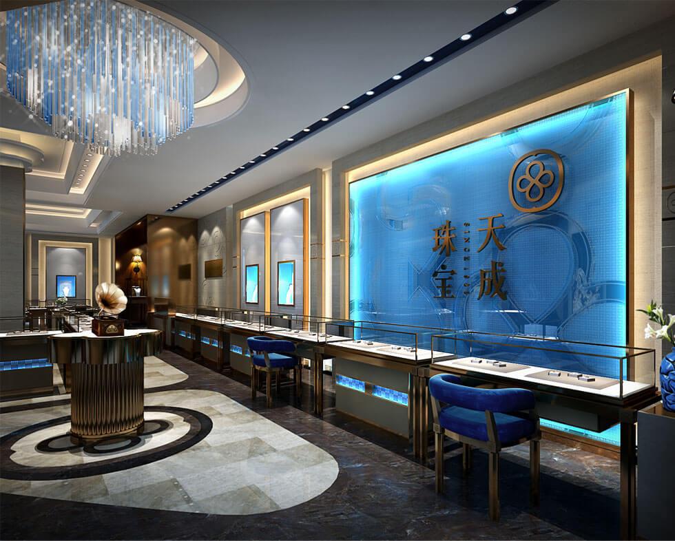 jewelry showroom design concepts