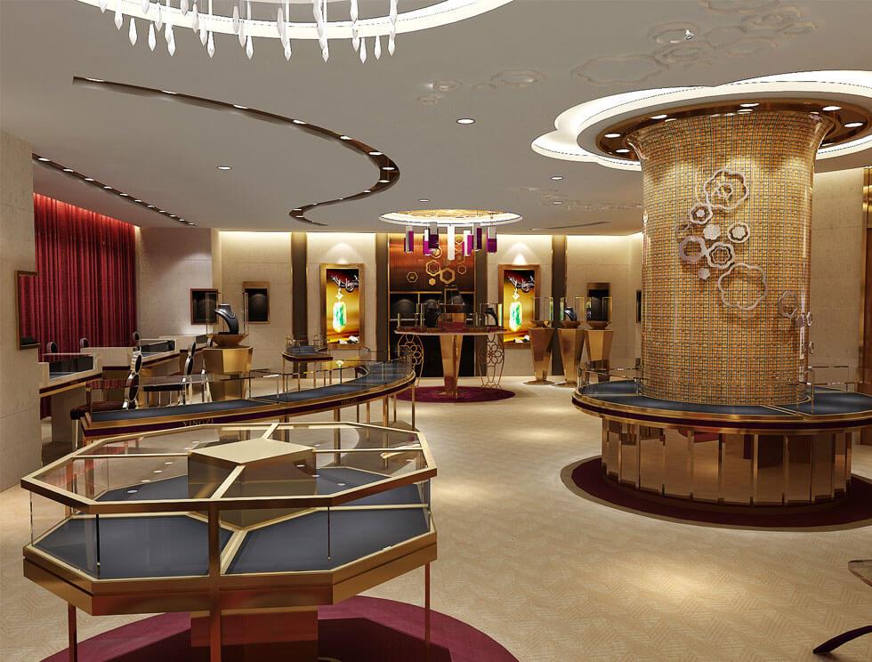 Luxury Jewelry showroom design