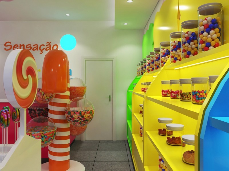 candy display fixture