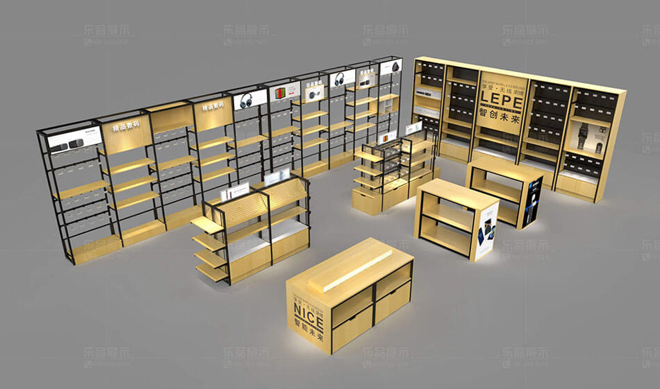 cell phone case store design
