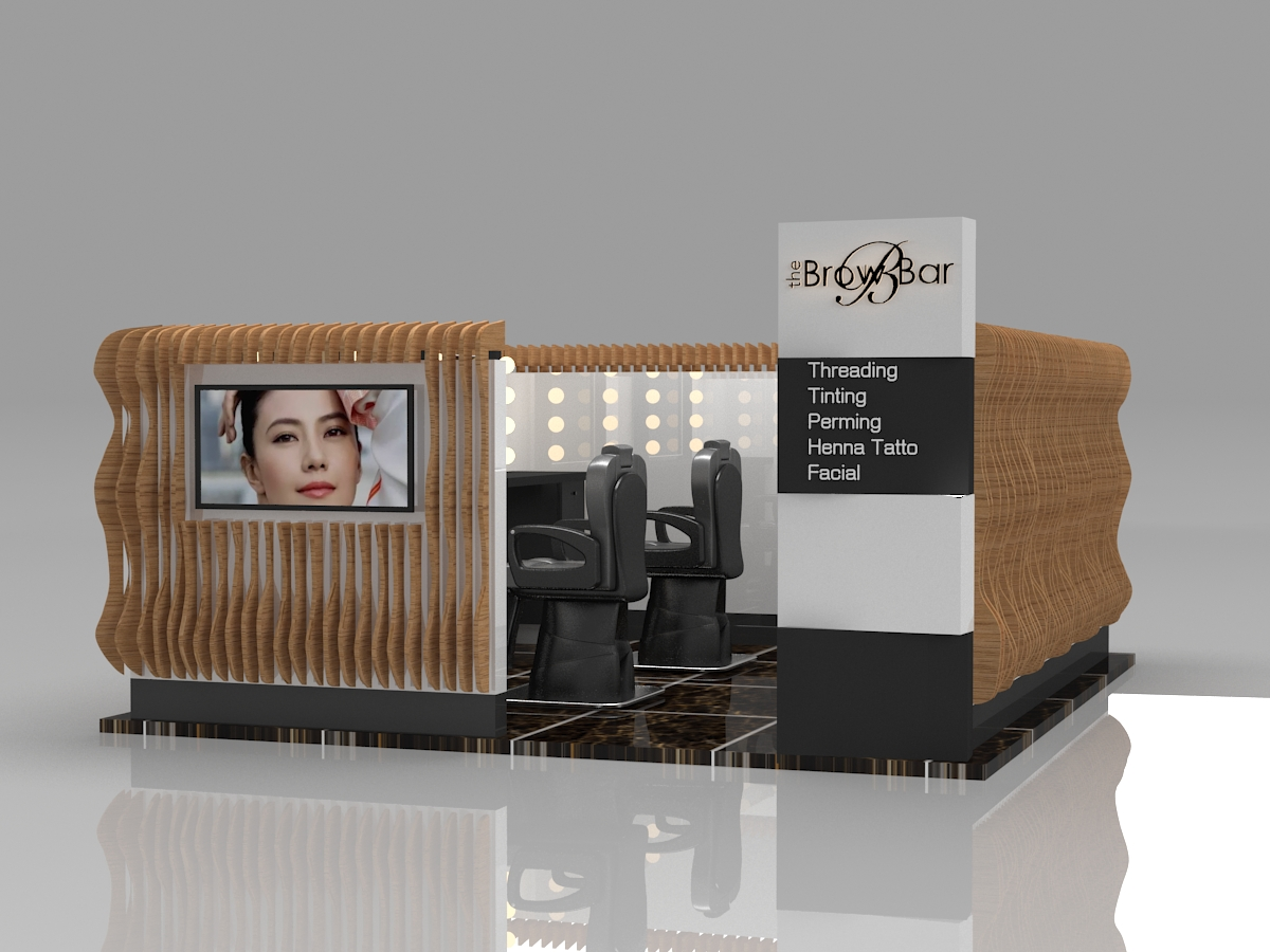 threading kiosk design