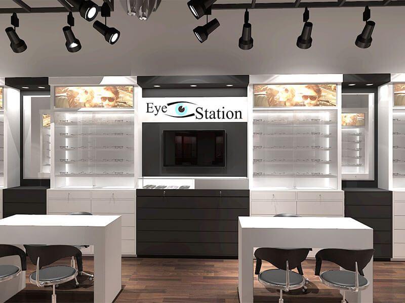 sunglass shop design