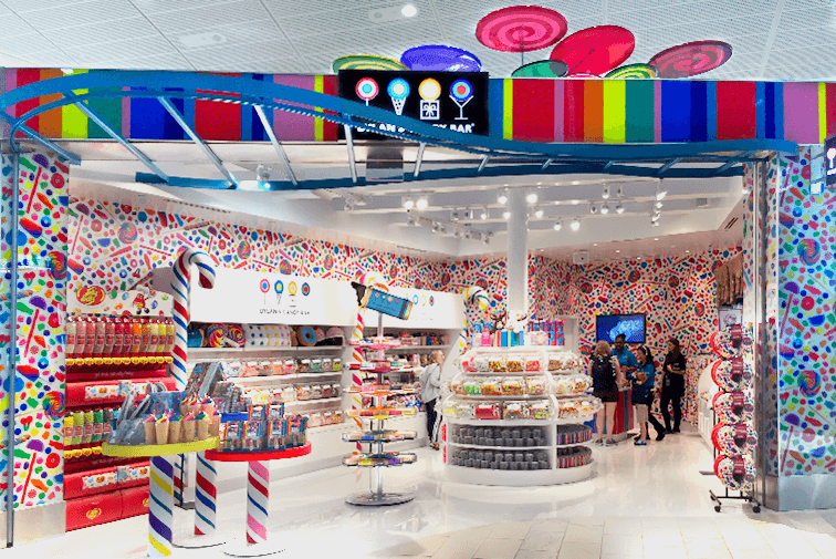 candy shopfitting