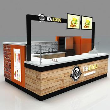 bubble tea kiosk design