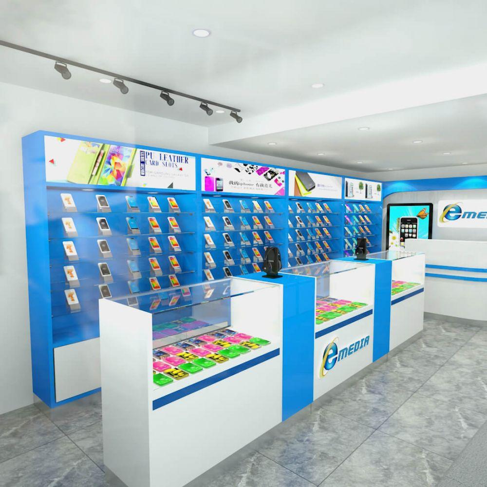 cellphone shop 3d design