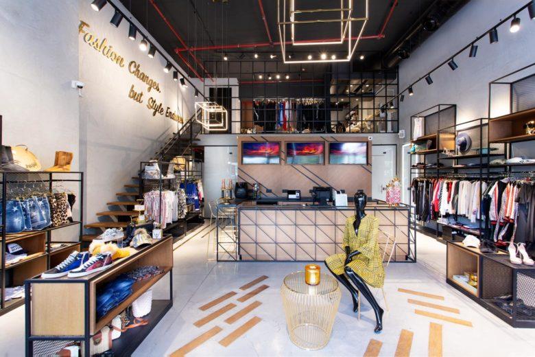 clothing store interior design