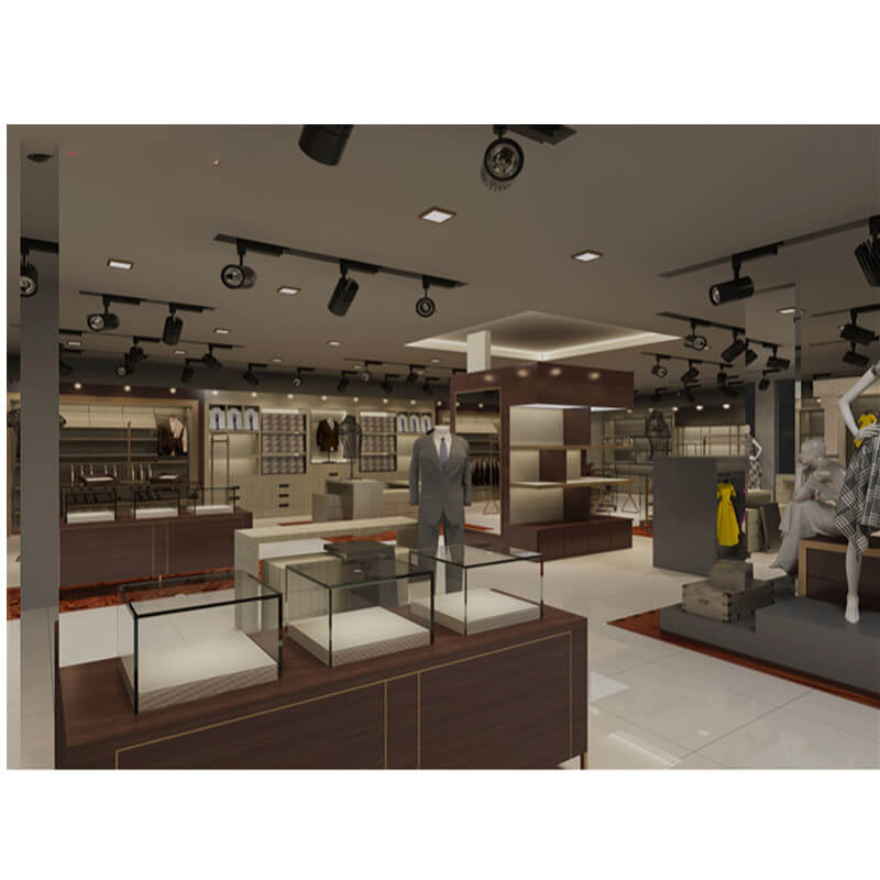 Custom Clothing Store for Interior 3D Design & Shop Fixture Display Hanger Display Rack for Sale