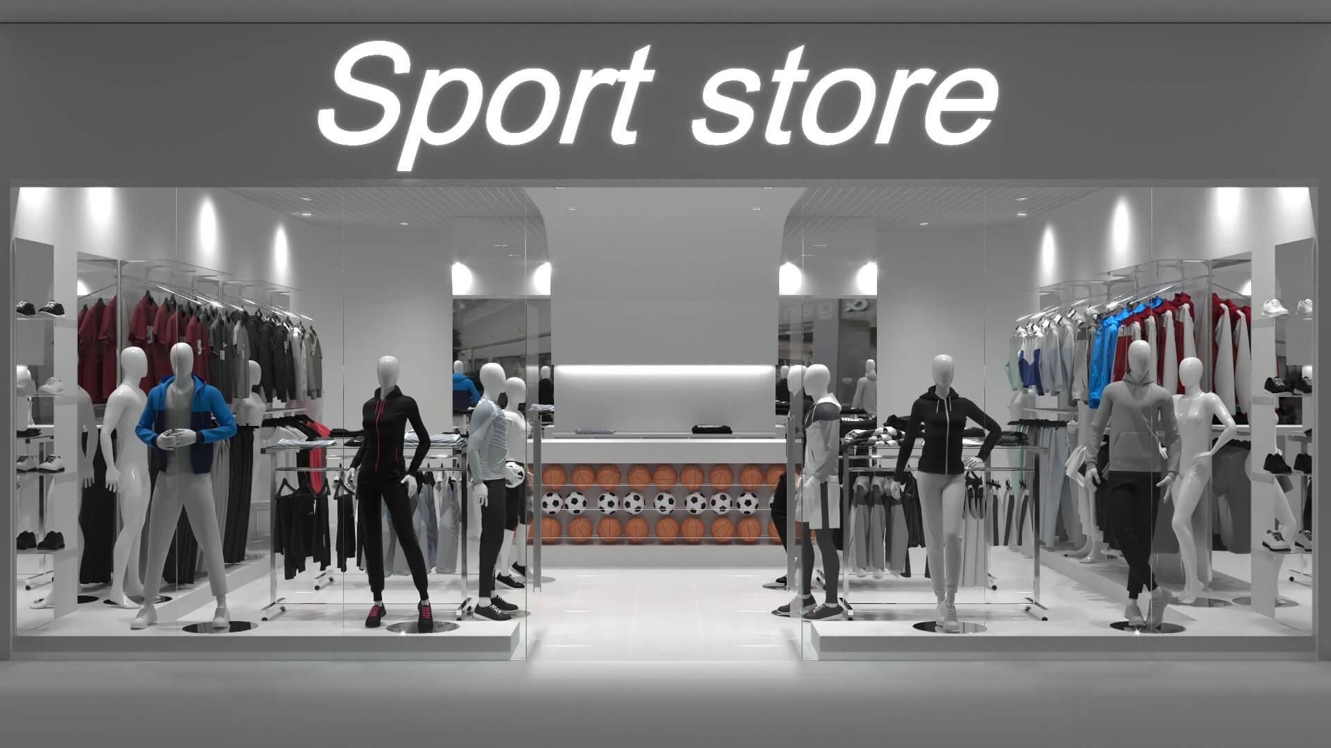 sportwear store