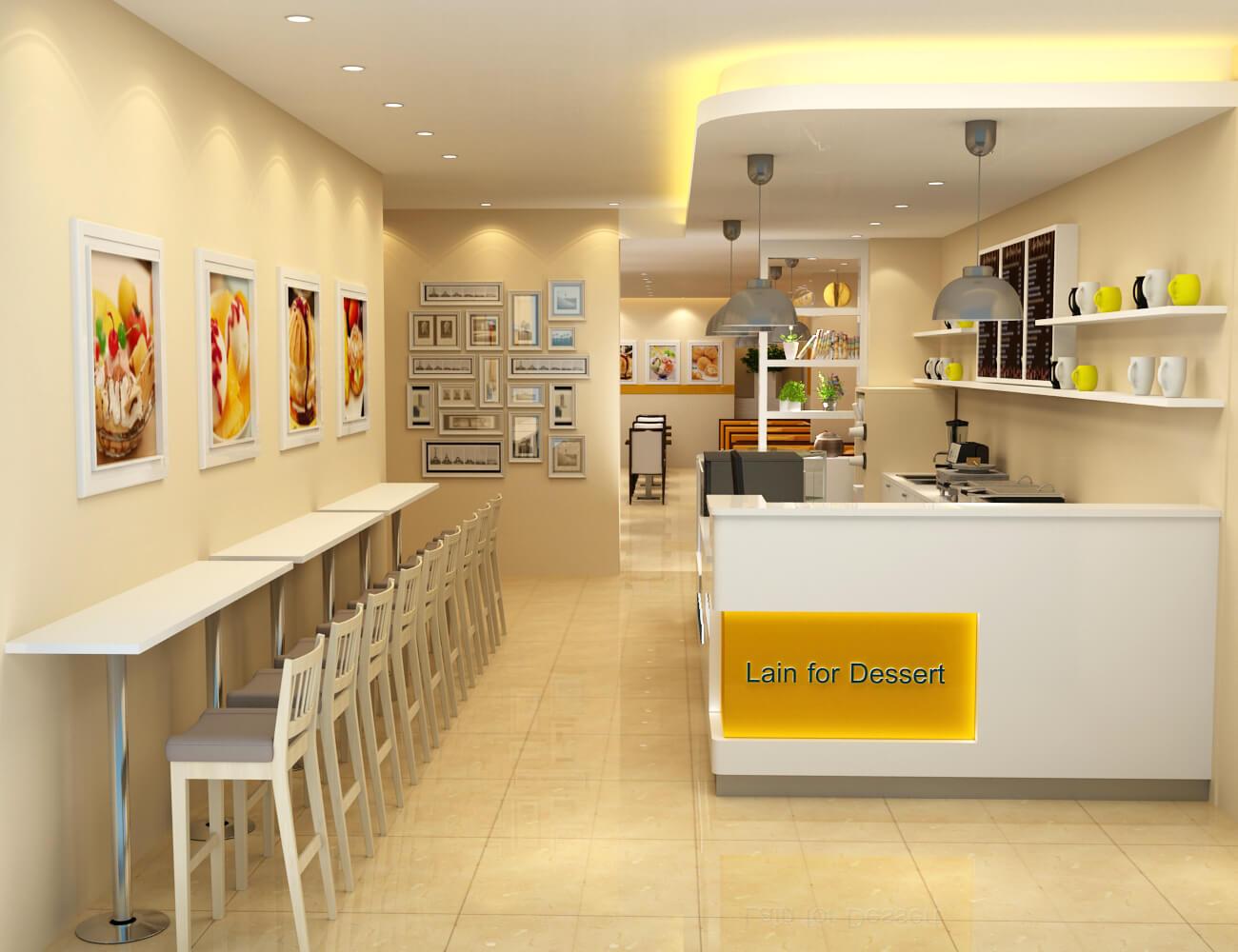 dessert shop furniture