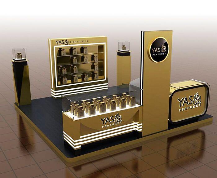 perufme kiosk design
