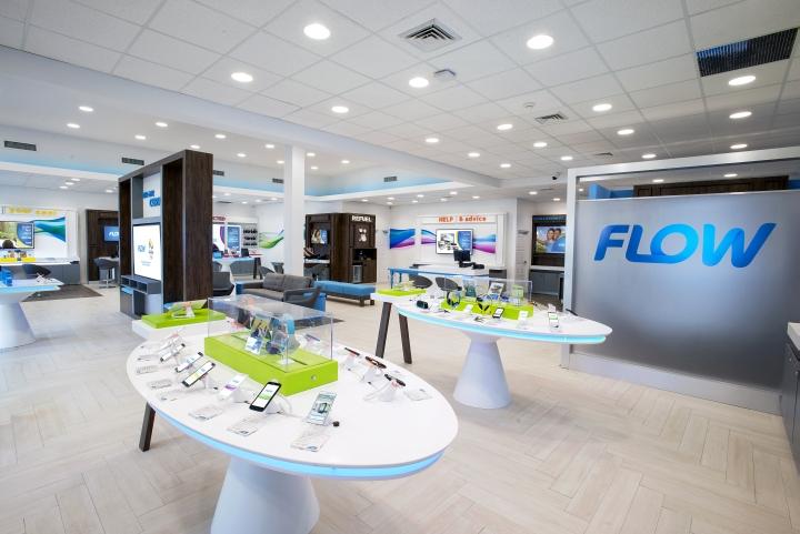 Telecom store design