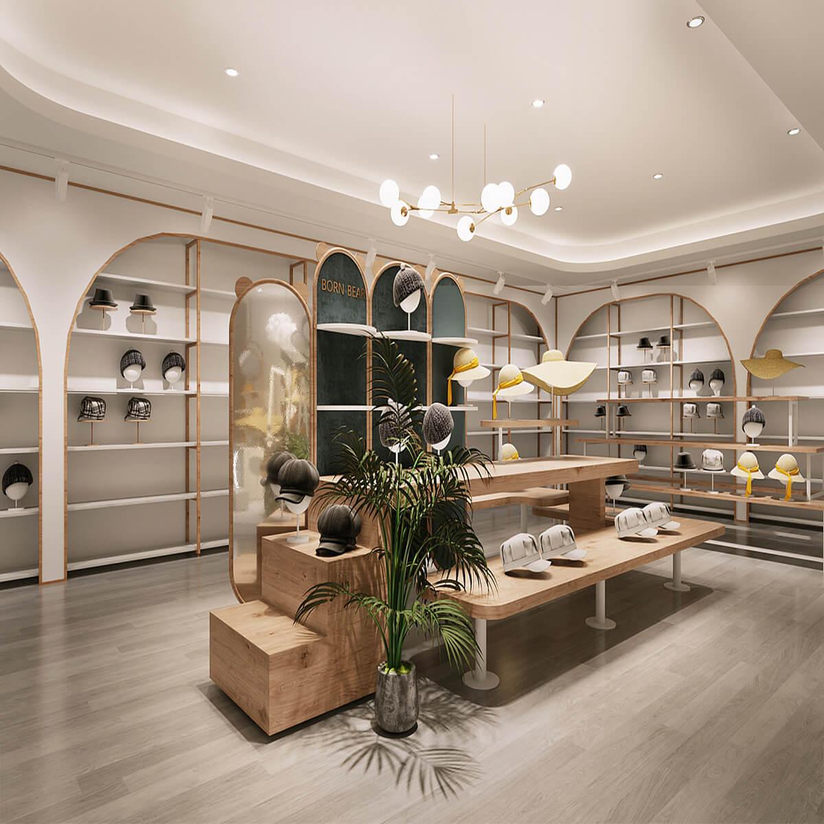 cap store design
