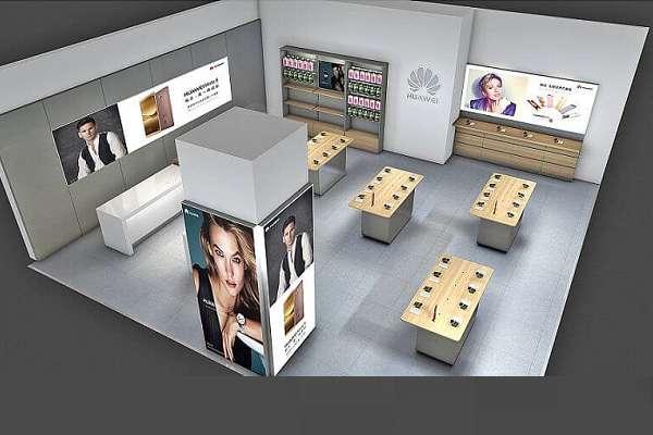 huawei phone store  design