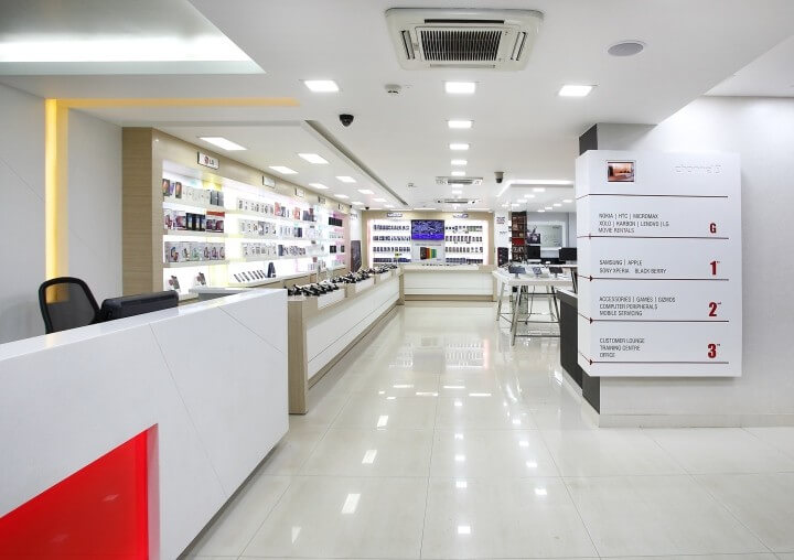 phone store design