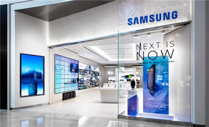 samsung store design