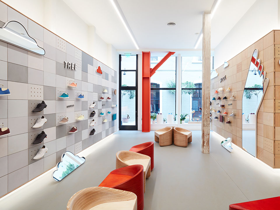 shoe store design ideas